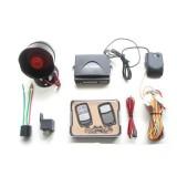 Alarma auto cu telecomanda,cu comanda inchidere centralizata.
