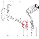 Armatura (Intaritura) Lateralerala Bara Spate Stanga Mcv,Van 1.4,1.5 Dci,1.6